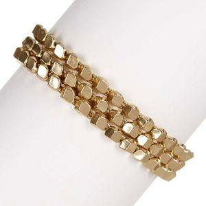 🆕Gold tone Botkier wrap bracelet